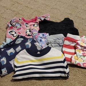 Lot of girls clothing size 6-9 months